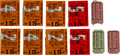 Miscellaneous Collectibles:General, 1930's Racing Ticket Stubs Lot of 12....