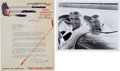 Miscellaneous Collectibles:General, 1938 Gus Schrader Signed Letter....