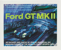 1965 Ford GT MK II Poster