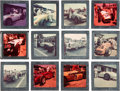 Miscellaneous Collectibles:General, 1953-56 Indianapolis 500 Color Slides Collection Lot of 135....