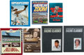 Autographs:Bats, 1980s-90's NASCAR Books Lot of 20+....