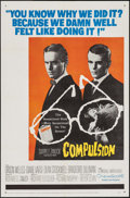"Movie Posters:Crime, Compulsion & Other Lot (20th Century Fox, 1959). One Sheets (2)(27"" X 41""). Crime.. ... (Total: 2 Items)"