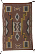 American Indian Art:Weavings, A Navajo Regional Rug. Coal Mine Mesa...