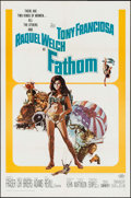 "Movie Posters:Adventure, Fathom (20th Century Fox, 1967). One Sheet (27"" X 41""), Lobby CardSet of 8 (11"" X 14""), & Pressbooks (2) Identical (4 Pages...(Total: 11 Items)"