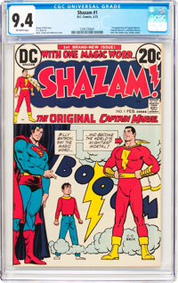 Shazam! #1 (DC, 1973) CGC NM 9.4 Off-white pages