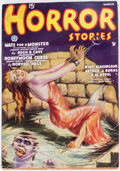 Pulps:Horror, Horror Stories - March 1935 (Popular) Condition: VG-....