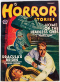 Pulps:Horror, Horror Stories - February 1941 (Popular) Condition: VG....