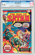 Bronze Age (1970-1979):Superhero, Son of Satan #1 (Marvel, 1975) CGC NM+ 9.6 Off-white to white pages....
