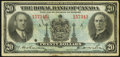 Canadian Currency: , Montreal, PQ- The Royal Bank of Canada $20 Jan. 2, 1935 Ch. # 630-18-06a. ...