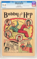 Golden Age (1938-1955):Non-Fiction, Bobby Gets Hep #nn (Frederick S. Clarke, 1946) CGC VF/NM 9.0Off-white pages....
