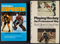 Hockey Collectibles:Publications, Hockey Greats Signed Hardcover Books Lot of 2....