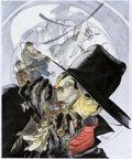 Original Comic Art:Covers, Michael Kaluta The Private Files of the Shadow CoverRecreation Painting Original Art (2016)....
