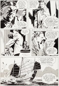 Original Comic Art:Panel Pages, Al Williamson Flash Gordon #4 Story Page 5 Agent X-9Original Art (King, 1967)....