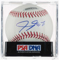 Baseball Collectibles:Balls, LeBron James Single Signed Baseball, PSA/DNA Mint+ 9.5....