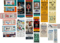 Miscellaneous Collectibles:General, 1980's-2000's Race Tickets Lot of 100+....