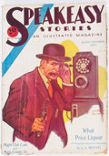 Pulps:Detective, Speakeasy Stories - August/September 1933 (Good Story Magazine Co.)Condition: GD+....