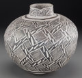 American Indian Art:Pottery, An Anasazi Black-On-White Storage Jar . ...