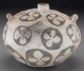 American Indian Art:Pottery, An Anasazi Black-On-White Storage Jar . c. 1100 - 12500 AD...