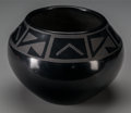 American Indian Art:Pottery, A San Ildefonso Blackware Jar . Marie and Julian Martinez . ...