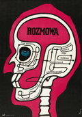 """Movie Posters:Thriller, The Conversation (Paramount, 1974). Polish One Sheet (23"""" X 32.5""""). ..."""