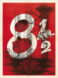 "Movie Posters:Drama, 8½ (Embassy, 1963). French Petite (23.5"" X 31.5""). ..."