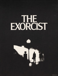 "The Exorcist (Warner Brothers, 1973). Special Poster (18.5"" X 24.5"")"