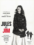 "Movie Posters:Romance, Jules and Jim (Les Films du Carrosse, 1961). French Petite (23.5"" X31.5""). ..."