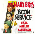 "Movie Posters:Comedy, Room Service (RKO, 1938). Six Sheet (81"" X 81""). ..."