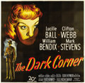 "Movie Posters:Film Noir, The Dark Corner (20th Century Fox, 1946). Six Sheet (81"" X 81"")...."