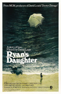 "Ryan's Daughter (MGM, 1970). One Sheet (27"" X 41"") and Deluxe Photo Set w/Original Box (11"" X 14"")..."