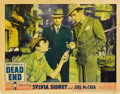 "Movie Posters:Crime, Dead End (United Artists, 1937). Lobby Cards (2) (11"" X 14"").... (Total: 2 Items)"