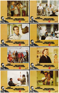 "One Flew Over the Cuckoo's Nest (United Artists, 1975). One Sheet (27"" X 41""), Half Sheet (22"" X 28""..."