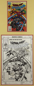 Original Comic Art:Covers, Scott McDaniel and Brad Vancata - Lethal Foes of Spider-Man #1Cover Original Art (Marvel, 1993).. ...