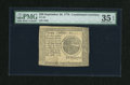 Colonial Notes:Continental Congress Issues, Continental Currency September 26, 1778 $20 PMG Choice Very Fine 35EPQ....