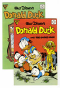 Modern Age (1980-Present):Cartoon Character, Donald Duck #246 and 247 Group (Gladstone, 1986) Condition: Average NM.... (Total: 2 Comic Books)