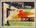 "Movie Posters:Science Fiction, 4D Man (Universal International, 1959). Half Sheet (22"" X 28"").Science Fiction.. ..."