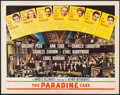 "Movie Posters:Hitchcock, The Paradine Case (Selznick, 1948). Half Sheet (22"" X 28"") Style B. Hitchcock.. ..."