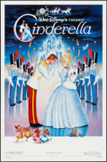 "Movie Posters:Animation, Cinderella (Buena Vista, R-1987). One Sheet (27"" X 41""). Animation.. ..."