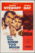 """Movie Posters:Hitchcock, The Man Who Knew Too Much (Paramount, 1956). One Sheet (27"""" X 41""""). Hitchcock.. ..."""