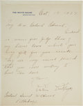 Autographs:U.S. Presidents, Calvin Coolidge Autograph Signed Letter as President. ... (Total: 2)