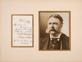 Autographs:U.S. Presidents, Chester A. Arthur Autograph Letter Signed as President. ...