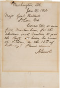 Autographs:U.S. Presidents, Abraham Lincoln Autograph Letter Signed as President.... (Total: 2)