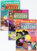 Bronze Age (1970-1979):Cartoon Character, Richie Rich Vault of Mystery #2-47 Near Complete Range File Copy Short Box Group (Harvey, 1975-82) Condition: Average NM-....
