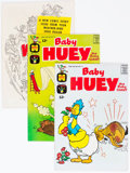 Silver Age (1956-1969):Humor, Baby Huey Related File Copy Short Box Group (Harvey, 1950s-70s) Condition: Average NM-....