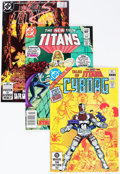 Modern Age (1980-Present):Superhero, New Teen Titans/Tales of the Teen Titans Long Box Group (DC, 1980s)Condition: Average VF/NM....