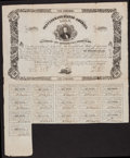 Confederate Notes, Ball C73 Cr. X34 Counterfeit $100 Bond 1862 Fine....