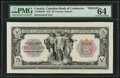 Canadian Currency: , Toronto, ON- The Canadian Bank of Commerce $5 Jan. 2, 1917 Ch. #75-16-02-04P Face Proof. ...