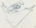 Animation Art:Production Drawing, Puss Café Pluto Production Drawing (Walt Disney, 1950). ...