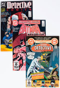 Modern Age (1980-Present):Superhero, Detective Comics Long Box Group (DC, 1980-95) Condition: AverageVF/NM....