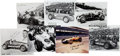Miscellaneous Collectibles:General, 1940's-50's Indy Drivers Signed Autographs Lot of 7....